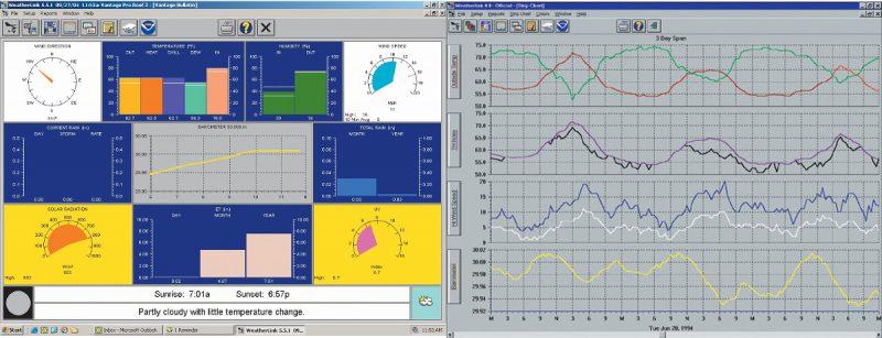 WeatherLinkスクリーンショット