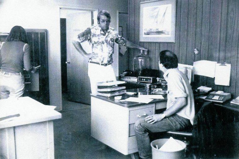 1972年デービス本社