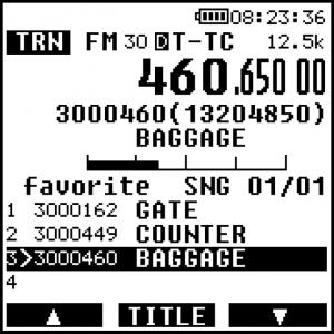 DV10 TETRA GSSI screenshot
